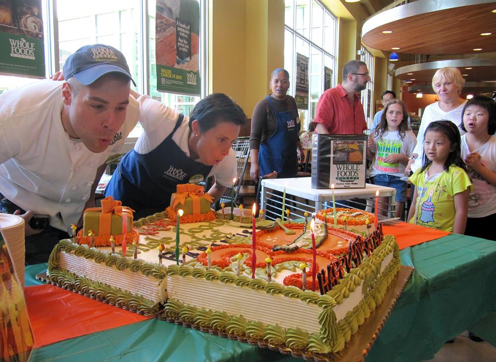 Whole Foods Market Paramus 30th Birthday Cake By Tony Ton Flickr