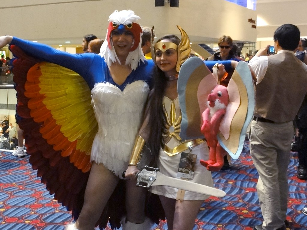 Sorceress and She-Ra   I was really impressed with how well …   Flickr