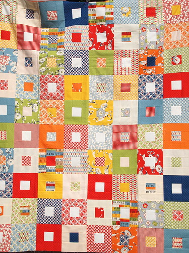 Fat Quarterly Quilt Along Quilt | by ImAGingerMonkey
