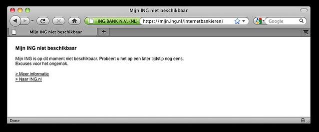 Mijn ING is op dit moment niet beschikbaar.   Flickr - Photo Sharing!