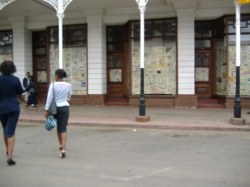 Bulawayo National Gallery covered up to conceal Maseko's exhibition | by Sokwanele - Zimbabwe