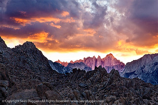 Mt. Whitney Sunset | by Seán Duggan