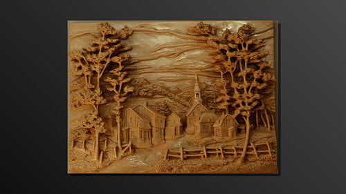 Village de charlevoix sculpture sur bois mchlu flickr - Video de sculpture sur bois ...