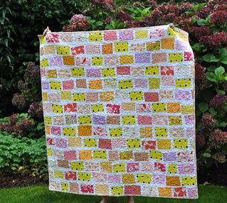 The Wonky Yellow Brick Road Quilt | by Lucy & Norman