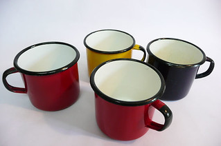 Polish enamel mugs | by planetutopia