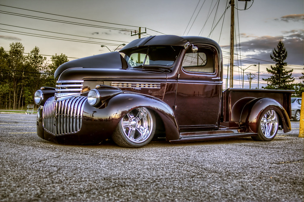 Ford Factory 5 >> Hot Rod Pickup | Mike Foote | Flickr