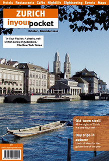 Zurich In Your Pocket 1 Cover | by In Your Pocket