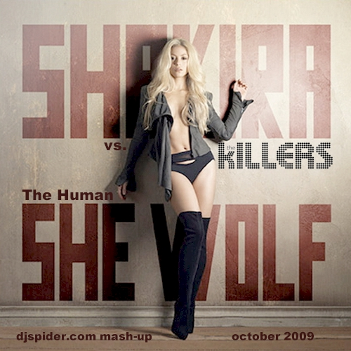 shakira_vs_the_killers | by djspideruk