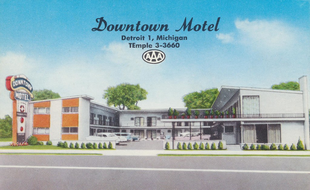 Downtown Motel - Detroit, Michigan