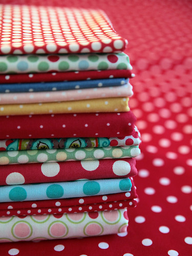 a soft spot for dots | by little girl quilts