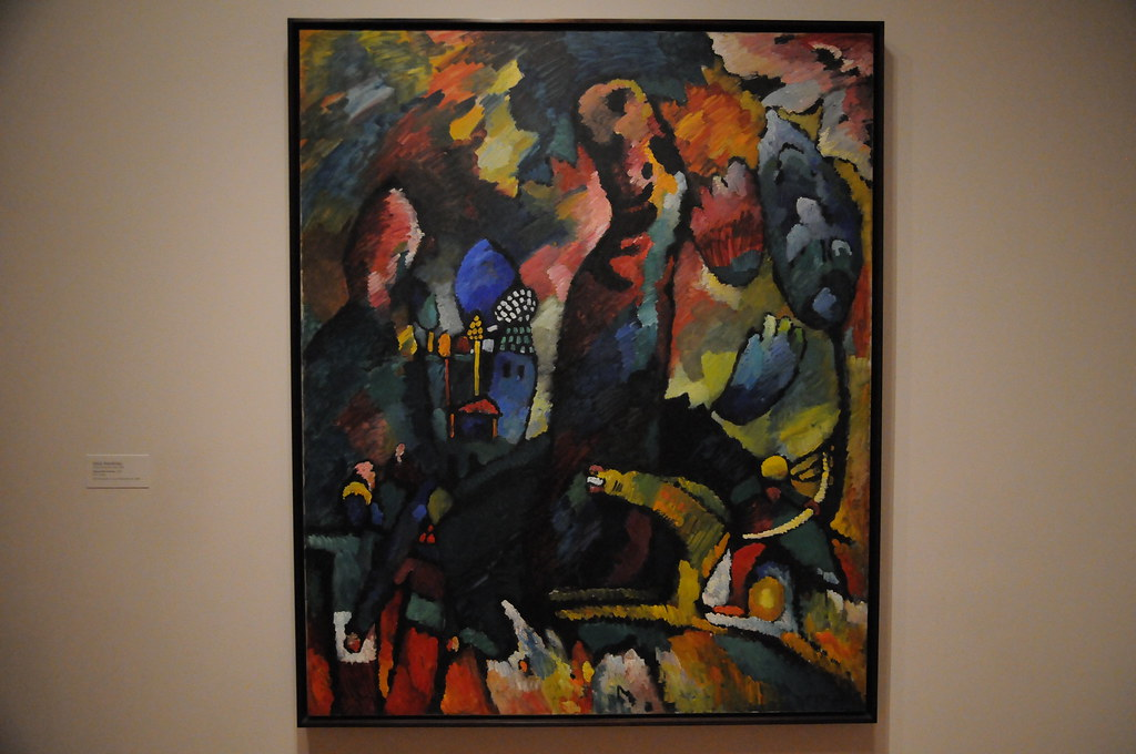 Picture With An Archer Vasily Kandinsky 1909 Moma Flickr