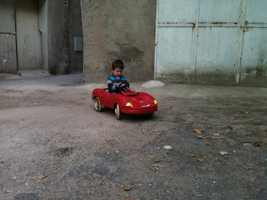 Voiture A Pedale Mercedes
