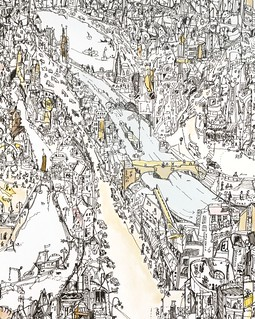 Doodle City 2 (detail) | by ales°motyl