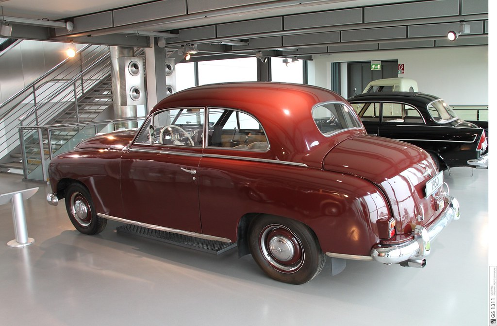 Cars On Line >> 1950 Borgward Hansa 1500 (09) | The Hansa 1500 is a medium s… | Flickr