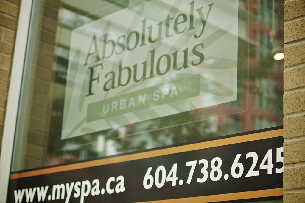 Sunday in midtown vancouver absolutely fabulous spa for Absolutely fabulous salon