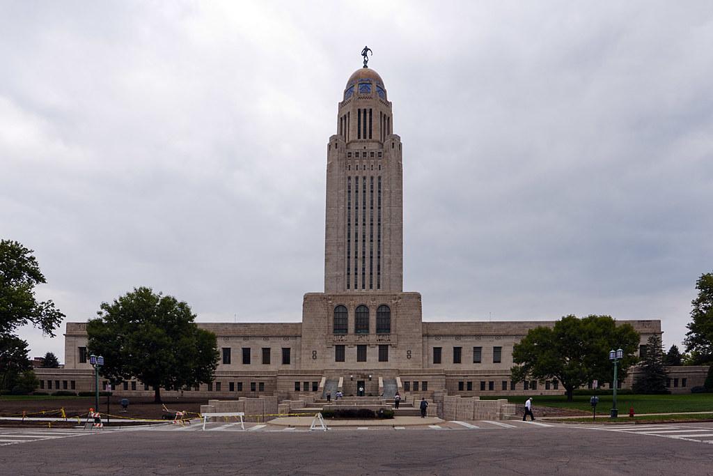 Nebraska State Capitol Building Lincoln Ne The