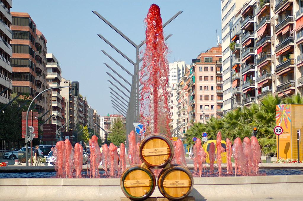 103. Fuente del vino en Logro�o | Flickr - Photo Sharing!