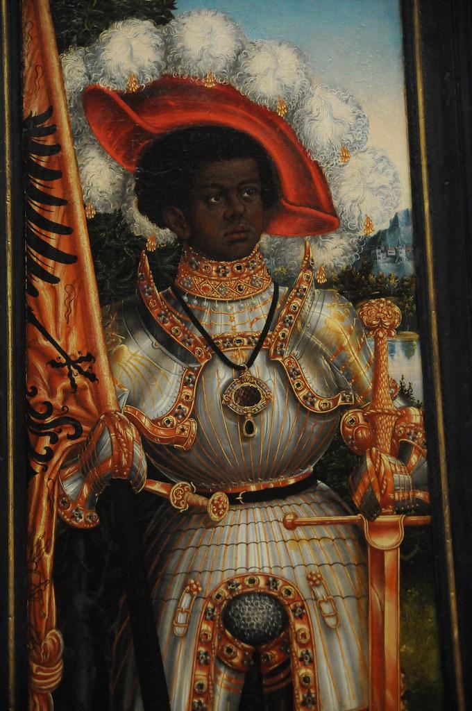 Saint Maurice Lucas Cranach The Elder Ca 1522 25 Oil