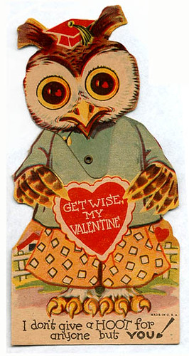 Get wise, my valentine | by pageofbats