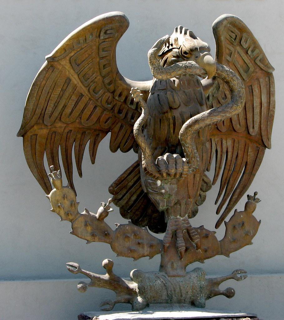 Eagle Eating Snake Eagle With Rattle Snake on