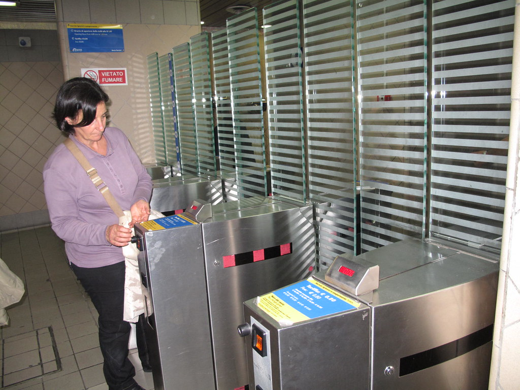 Termini Train Station--pay toilets. Insert coin and door o…   Flickr