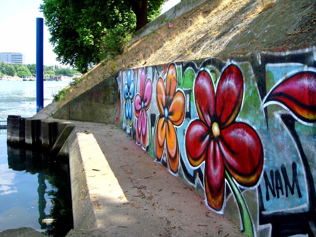 Flower street art by nowart graffiti flower street art flo flickr flower street art by nowart by nowart gumiabroncs Choice Image