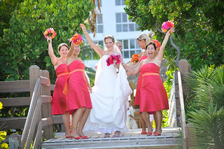 Tropical Wedding Cheer at Boardwalk | by thepalmshotel