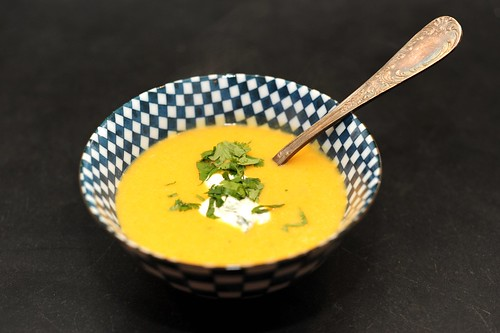 butternut squash and cider soup | by sassyradish