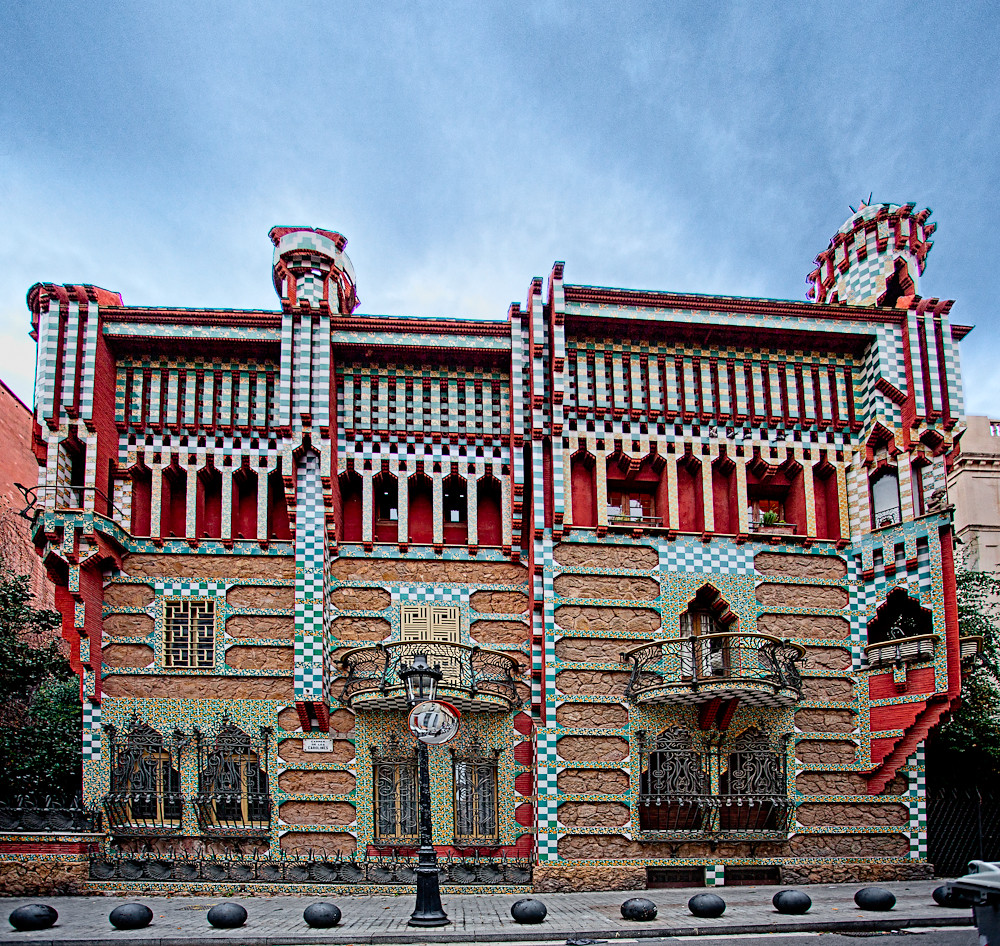 Casa vicens barcelona built in the period 1883 1889 for Casa vicens gaudi