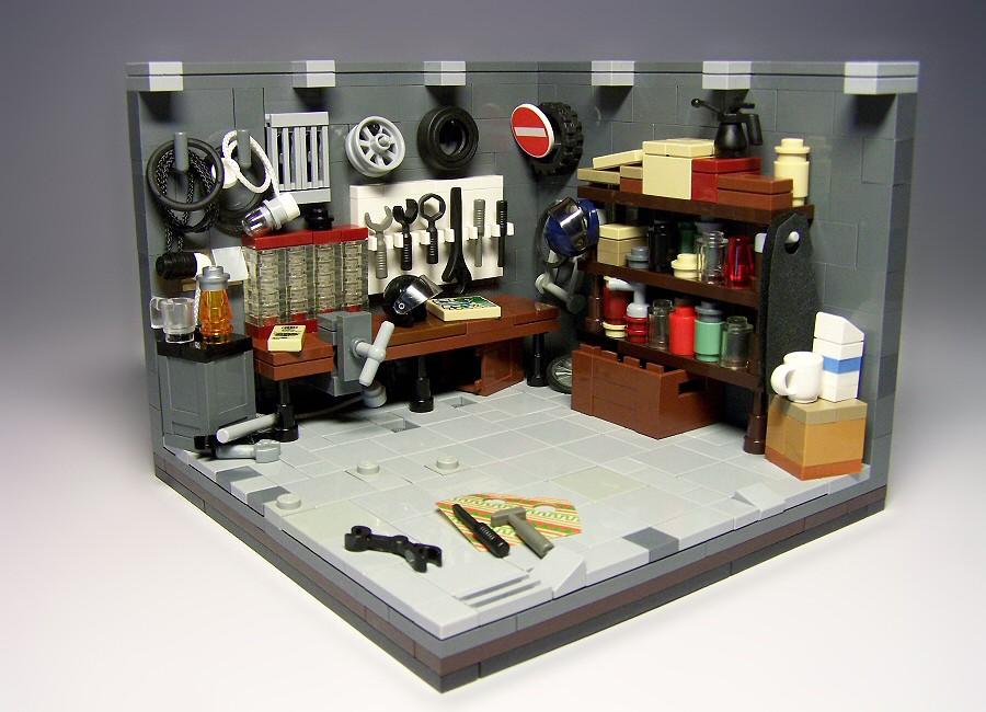 garage dad behave yourself it doesn 39 t have such big bol flickr. Black Bedroom Furniture Sets. Home Design Ideas