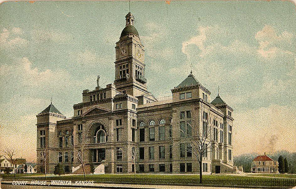 Sedgwick County Courthouse 510 N Main St In Wichita Ks