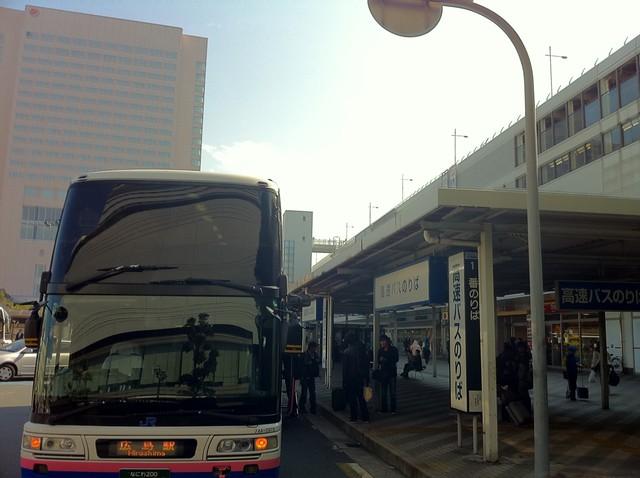 つーわけで、1225広島駅新幹線 ...