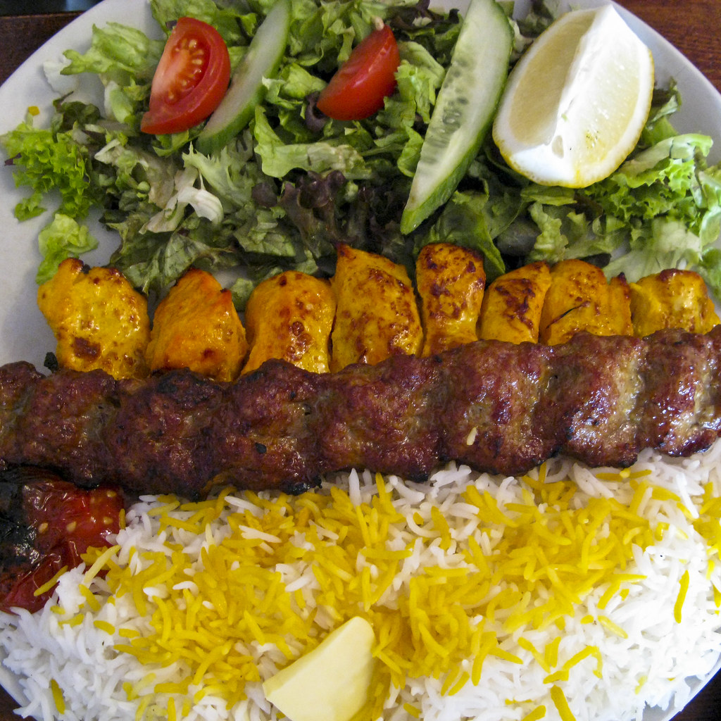 Best joojeh kabab in town yummy delam barat kheyli for A treasury of persian cuisine