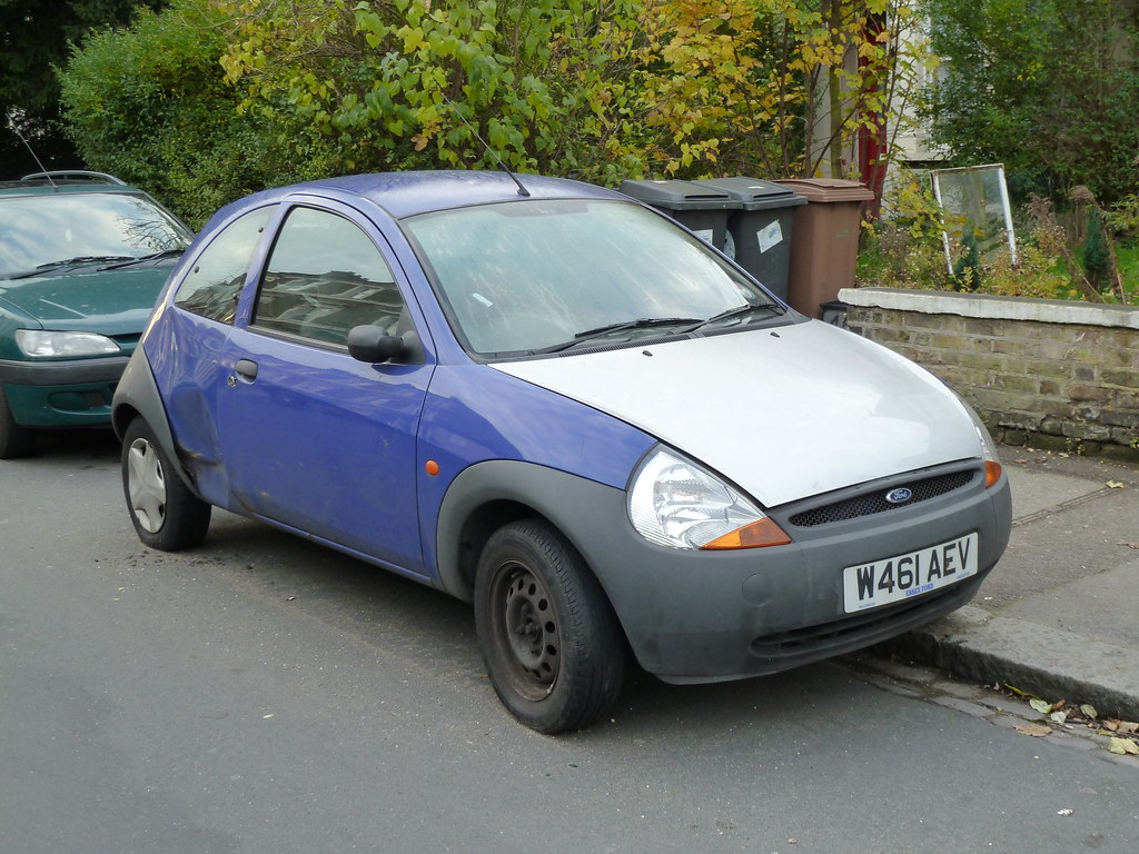 Ford Ka Mk  Purple With Silver Bonnet By E Massive