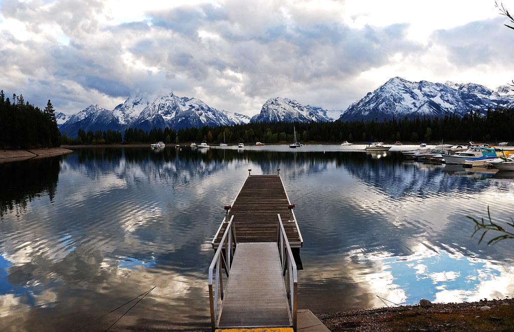 Sign And Drive 45 >> Grand Tetons from Colter bay | We stopped here at Colter ...