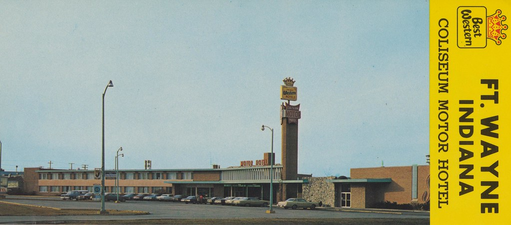 Coliseum Motor Hotel - Ft. Wayne, Indiana