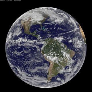 NASA GOES-13 Full Disk view of Earth November 24, 2010 | by NASA Goddard Photo and Video