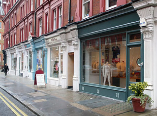 John Simons new shop, Chiltern Street, London W1. | by GormanGhast