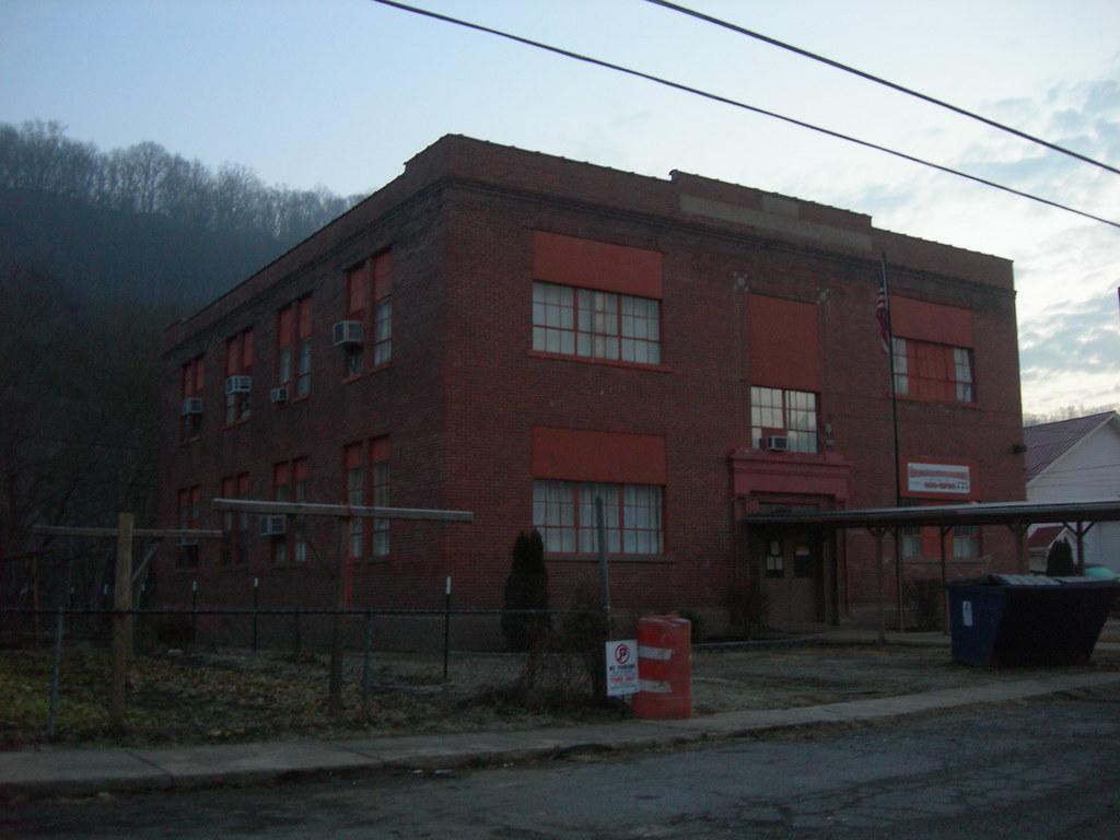 Old Auxier School Building Auxier Kentucky Jimmy