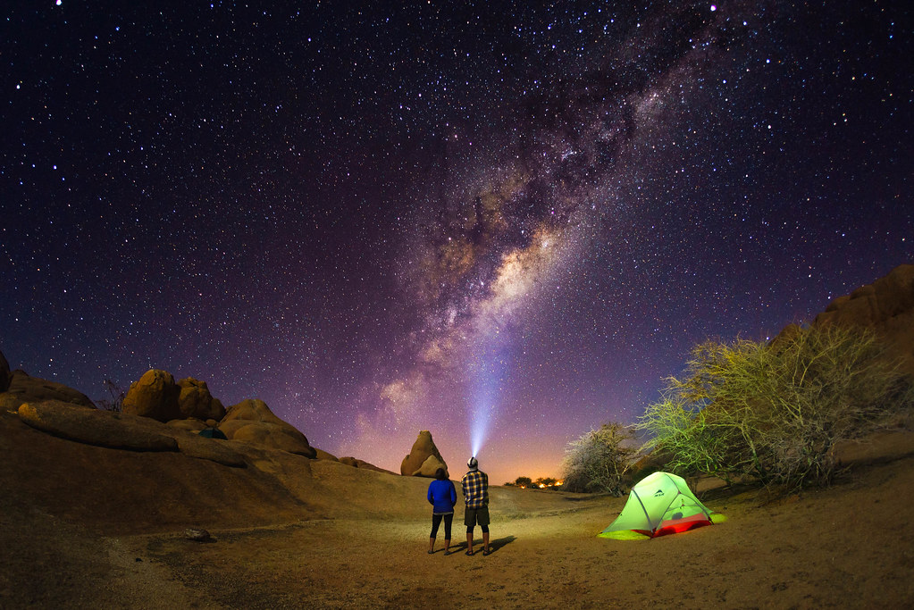 Starry night camp. | Starry night camping at Spitzkoppe ...