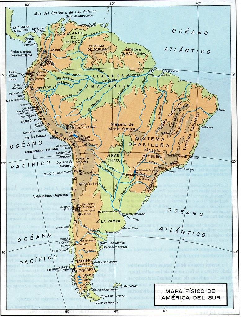 Mapa f sico de am rica del sur econciencia peru1 flickr for Encimeras del sur