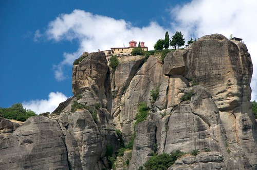 Agios Stefanos Monastery from Below.  St. Stephens ...