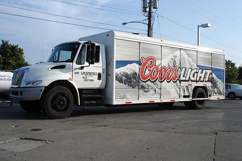 Coors Light Truck Dsc00555 A Coors Light Straight Truck