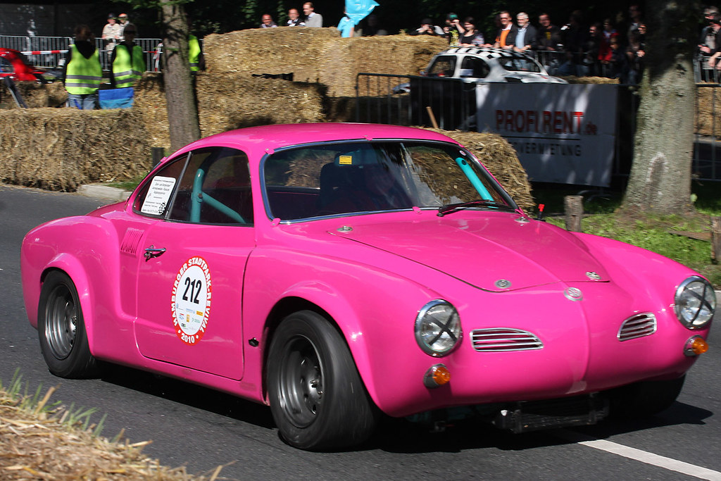 Pink Vw Karmann Ghia 1965 Airsoenxen Flickr