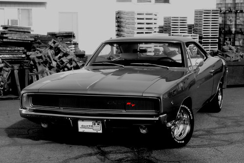 1968 dodge charger r t black white and red a not so flickr. Black Bedroom Furniture Sets. Home Design Ideas