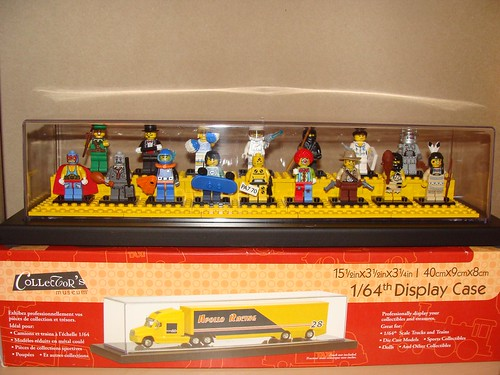 LEGO Collectible Minifigures Series 1 Display Case and Box | by notenoughbricks