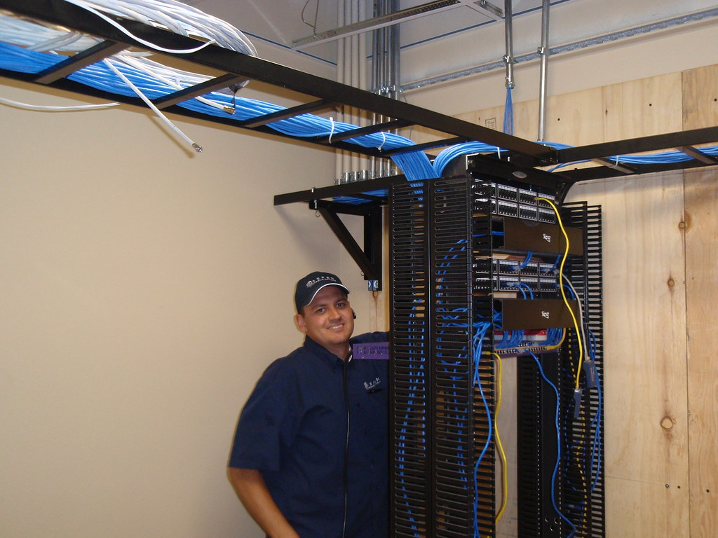 Murray Dressing In Cat 6 Cable You Can Tell Murray Loves