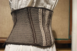 The Prim Reaper's Corset from Vampire Knits | by QueenieVonSugarpants