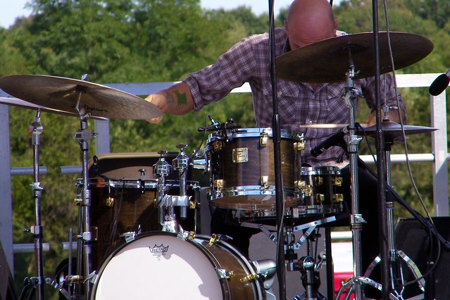 The Bad Plus drummer David King | Flickr - Photo Sharing!