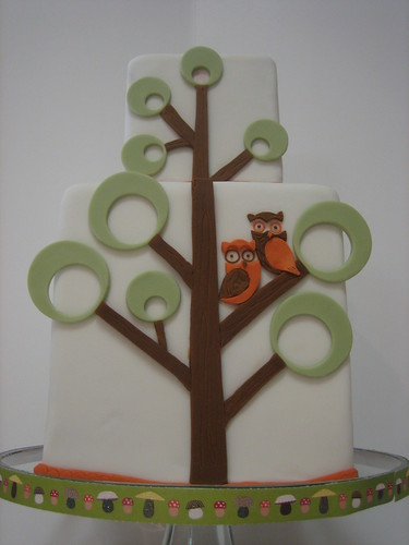 Modern Woodland Cake | by Madame Patti-Kake's